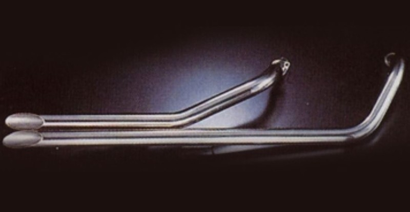 marving ligne drag pipes longss 2 2 chrom e pour honda vt 600 shadow motokristen. Black Bedroom Furniture Sets. Home Design Ideas