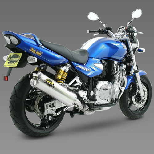 laser silencieux duo tech inox pour yamaha xjr 1300 2007. Black Bedroom Furniture Sets. Home Design Ideas
