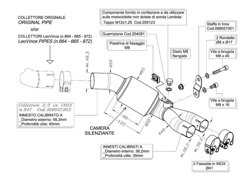 leovince suppression du catalyseur pour honda cb1000r motokristen. Black Bedroom Furniture Sets. Home Design Ideas