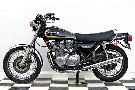 echappements pour kawasaki z 1000 a1 a2 1977 78 motokristen. Black Bedroom Furniture Sets. Home Design Ideas