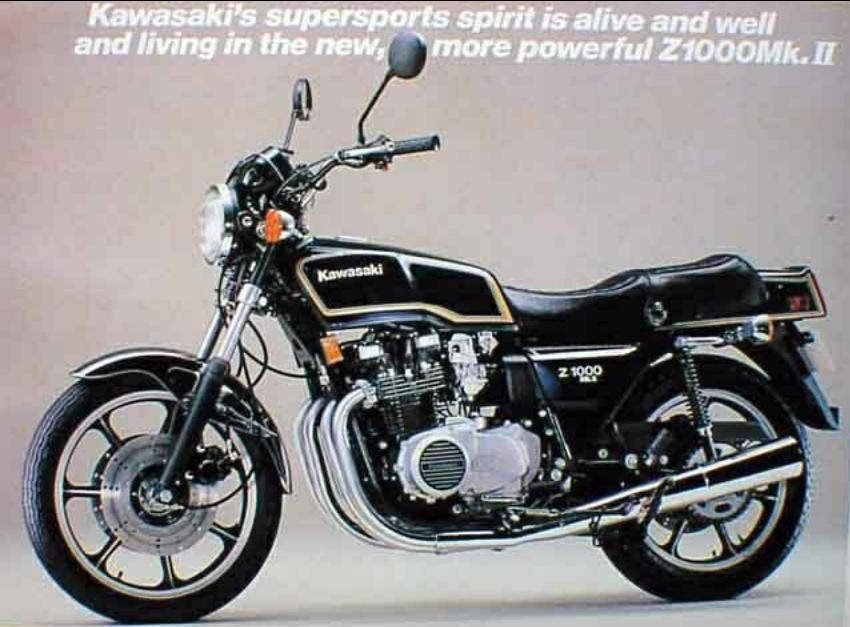 echappements pour z 1000 mk2 kzt00a 1979 1980 motokristen. Black Bedroom Furniture Sets. Home Design Ideas