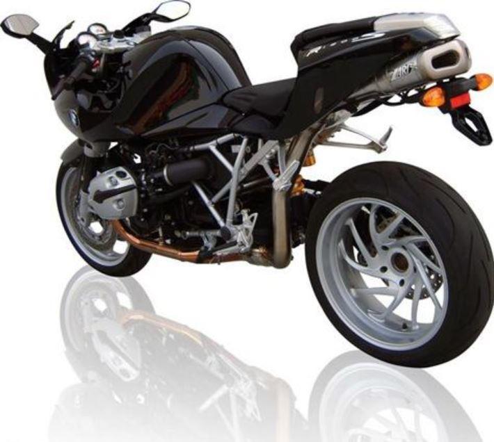 zard silencieux inox pour bmw r 1200s motokristen. Black Bedroom Furniture Sets. Home Design Ideas