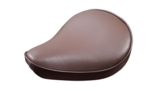 Selle Solo small cuir marron uni
