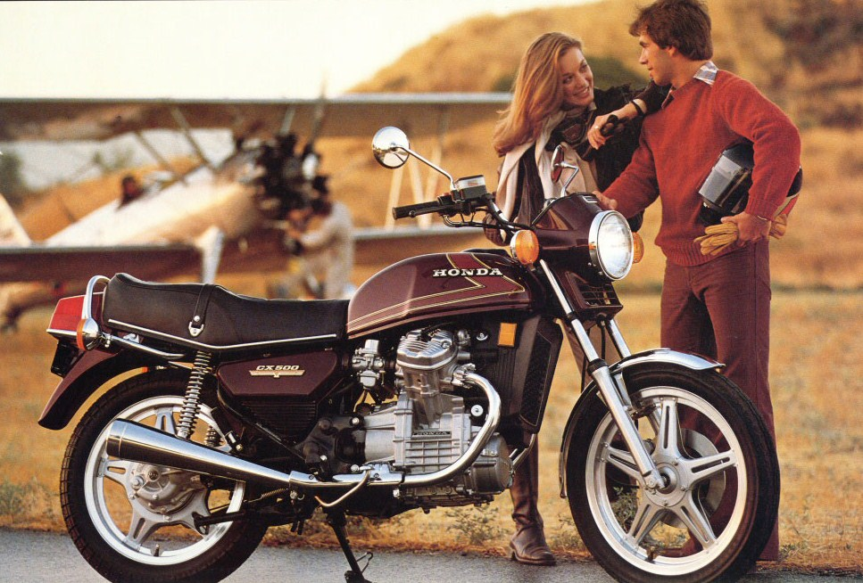 Echappements Pour Honda CX 400 NC05 NC08 1981 83
